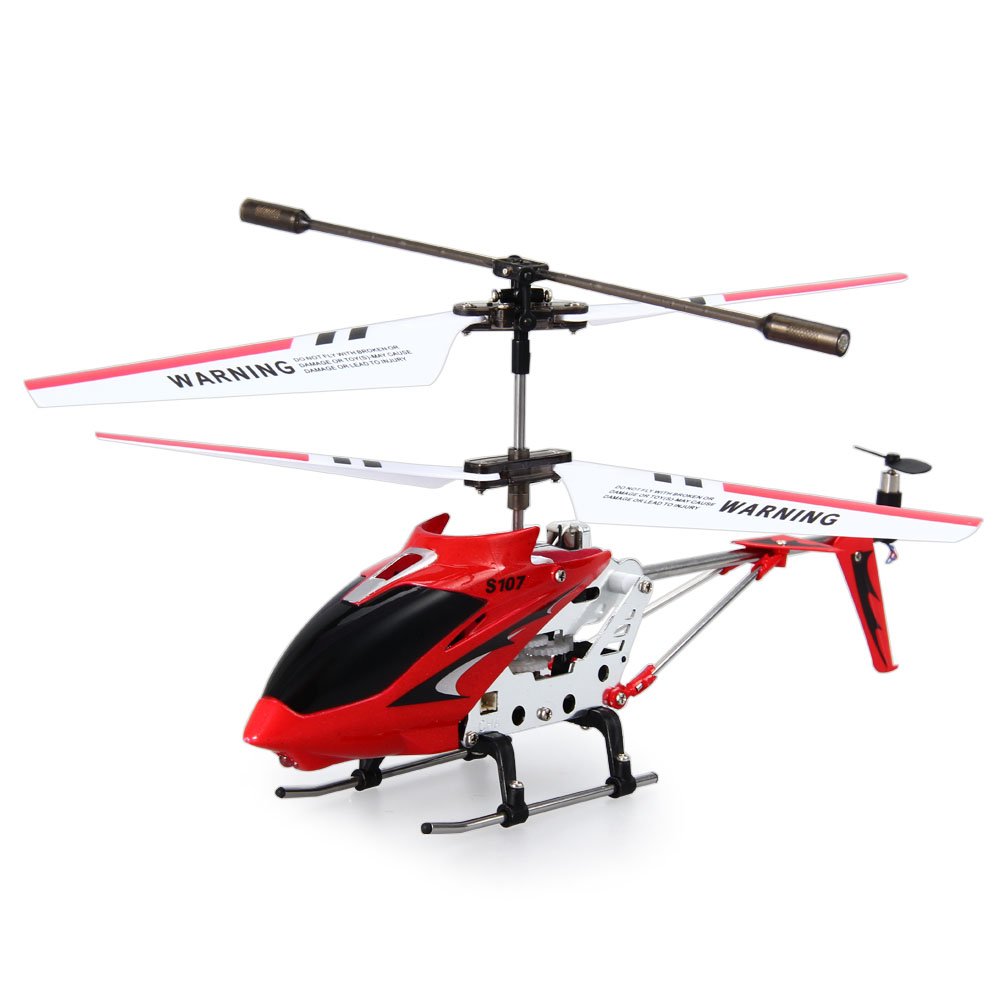 [해외]원래 시마 S107G S107 미니 드론 3CH RC 플라잉 장난감 자이로 무선 제어 금속 합금 동체 RC 헬리콥터 미니 헬기 완구/Original Syma S107G S107 Mini Drones 3CH RC Flying Toy Gyro Radio Contro