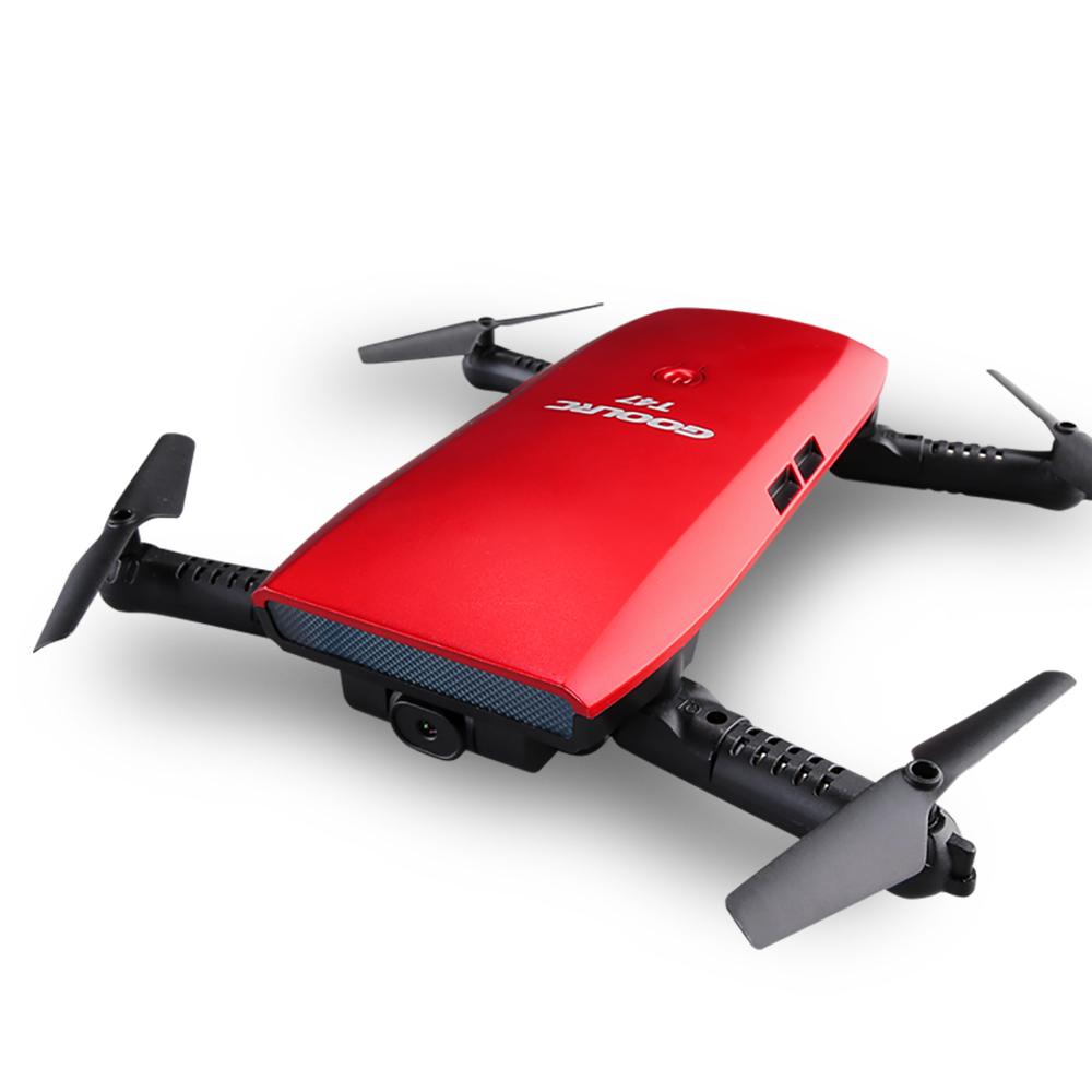 [해외]T47 6 축 자이로 WIFI FPV 720P CameraDrone 접이식 Quadcopter G- 센서 RC Selfie Dron RTF RC 헬리콥터 VS JJRC H47/T47 6-Axis Gyro WIFI FPV 720P CameraDrone Foldab