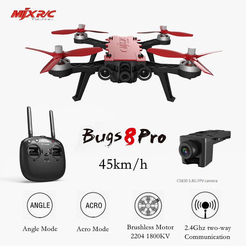 [해외]MJX B8 Pro 버그 8 Pro RC Drone Quadcopter Brushless2204 1800KV 모터 3D 플립 원격 제어 무인 장난감 항공기 VS Bugs3 6/MJX B8 Pro Bugs 8 Pro RC Drone Quadcopter Brushl