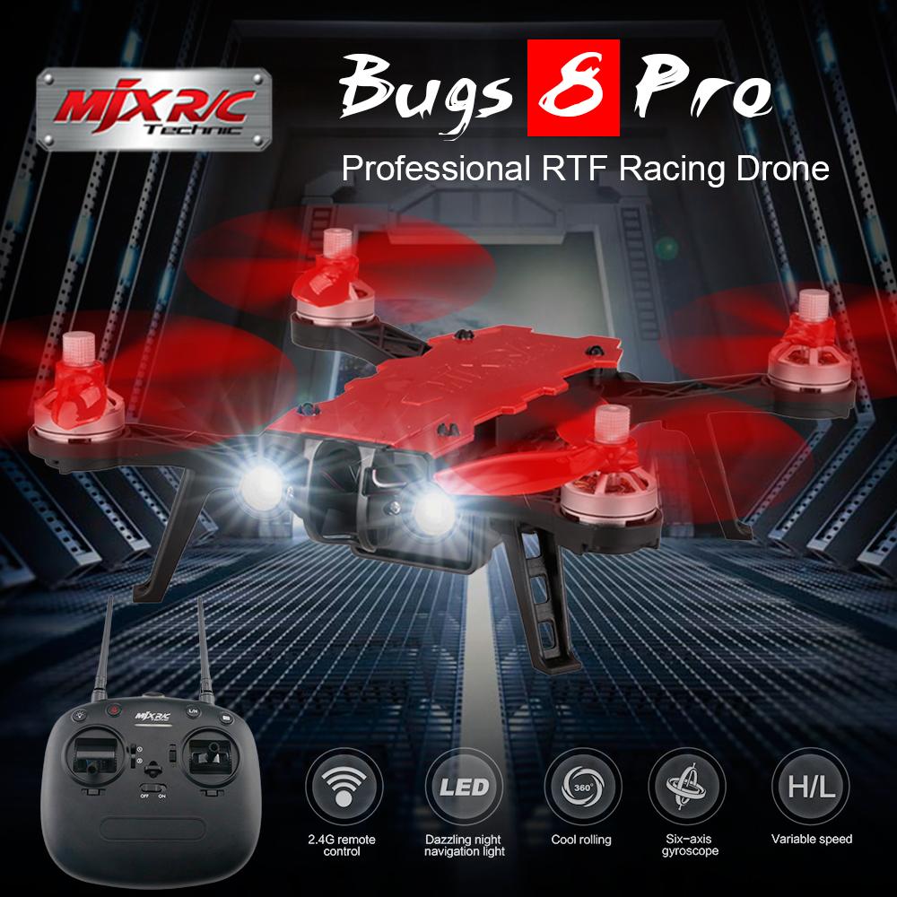 [해외]기존 MJX B8pro 5.8G 720P 4CH 각도 / 아크로 모드 스위치 고속 RC 레이싱 무인 항공기 전문 헬리콥터/Original MJX B8pro 5.8G 720P 4CH Angle/Acro Mode Switch High Speed RC Racing D