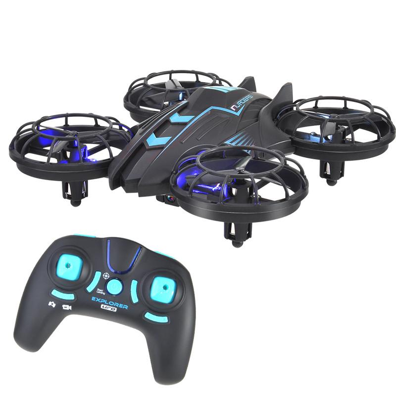 [해외]515V Headless RC Drones 360 롤링 액션 3D CF RC 쿼드 코퍼 원터치 리턴 2.4G 4CH 6Axis RC 쿼드 코퍼 RTF 2MP 카메라/515V Headless RC Drones 360 Rolling Action 3D CF RC Qu