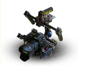 [해외]3 축 카메라 Gimbal W / servos & amp; 자이로 / 짐벌 핸들 / 동영상 안정 마운트/3-Axis Camera Gimbal W/servos & Gyro/handle gimbal/Stabilized Mount for Movie