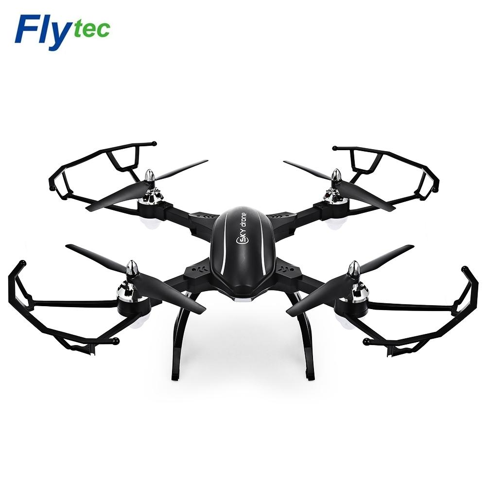 [해외]Flytec T22 2.4G 접을 수있는 RC 드론 4CH 6Axis 자이로 AircraftHover 높이 홀드 기능 초보자 헬리콥터 3D 플립 Quadcopter/Flytec T22 2.4G Foldable RC Drone 4CH 6Axis GYRO Aircr