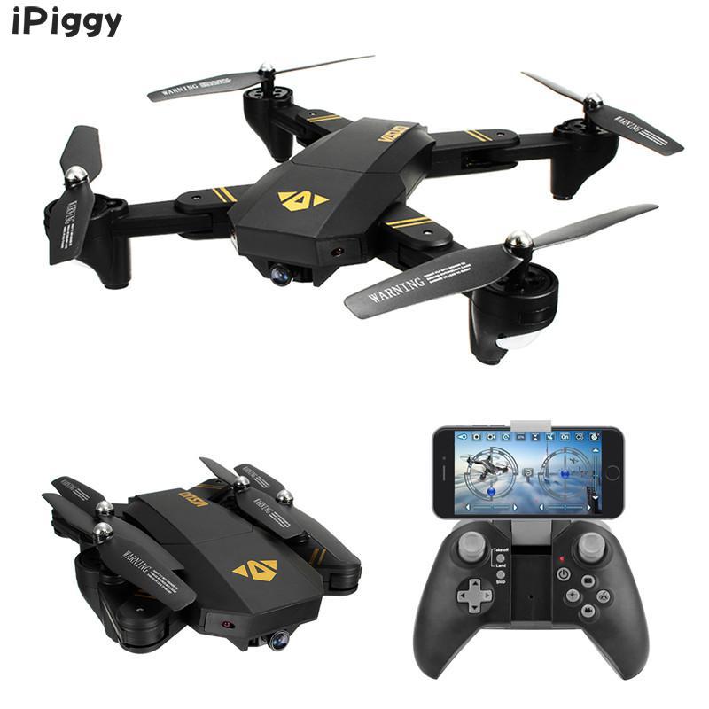 [해외]RC 무인 비행기 완구 XS809HW XS809W WIFI FPV 접이식 팔 FPV Quadcopter2MP 0.3MP 카메라 6Axis RTF VS JJRC H37 H31 E50/RC Drone Toys XS809HW XS809W WIFI FPV Foldabl