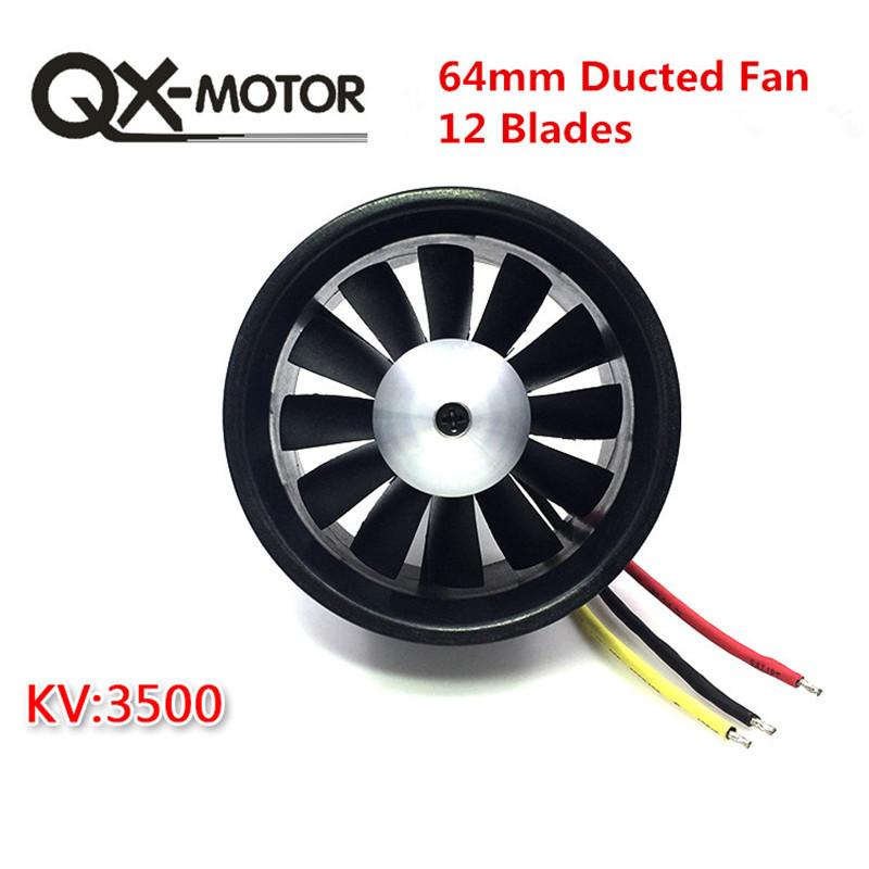 [해외]QX_MOTOR DIY EDF 덕트 덕트 비행기 팬 30mm / 55mm / 64mm / 70mm / 90mm 브러시리스 모터/QX_MOTOR DIY EDF Ducted Airplane Fan 30mm / 55mm / 64mm / 70mm / 90mmBrushl