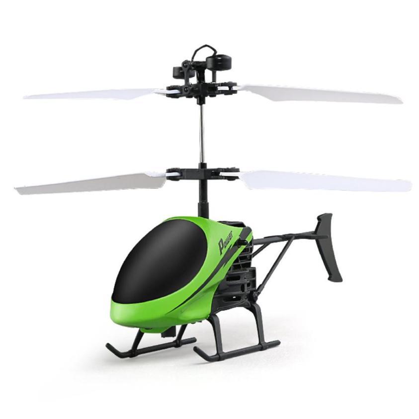 [해외]뜨거운 비행 헬기 미니 RC Infraed 유도 항공기 Quadcopter 원격 컨트롤러 아이들을가벼운 장난감 깜박임/Hot  Flying Helicopter Mini RC Infraed Induction Aircraft Quadcopter Remote Cont