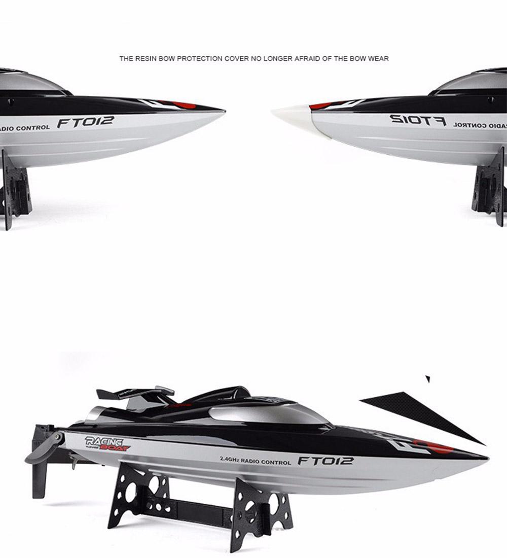 [해외]FT012 2.4G 원격 제어 레이싱 보트 모델 스피드 고속 45km / h RC BoatWater 냉각 시스템/FT012 2.4G Remote Control Racing Boat Model Speedboat High Speed 45km/h RC BoatWate