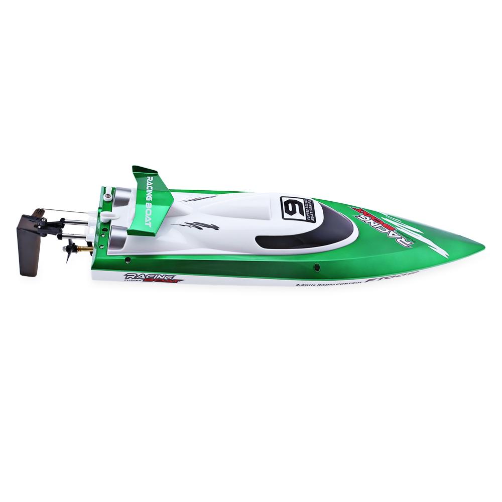 [해외]FeiLun FT009 RC BoatTransmitter 2.4G RC 레이싱 보트 고속 요트 RC 보트 Anti- 충돌 커버 키즈 크리스마스 선물/FeiLun FT009 RC BoatTransmitter 2.4G RC Racing Boat High Speed