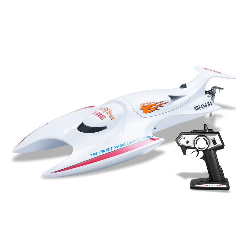 [해외]EBOYU (TM) 듀얼 말 DH7016 무선 제어 2.4GHZ 4CH 속도 RC 보트 고성능 수냉 시스템 SpeedBoat RTR/EBOYU(TM) Double Horse DH7016 Radio Control 2.4GHZ 4CH Speed RC Boat Hig