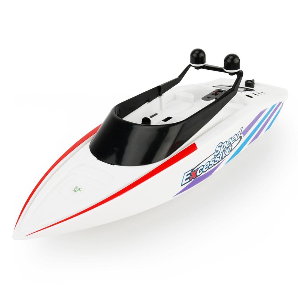 [해외]LeadingStar RC 크리 에이 티브 바다 보트 완구 2.4GHz 미니 라디오 제어 전기 레이싱 원격 제어 보트 완구 어린이소년 선물/LeadingStar RC Creative Sea Boat Toys 2.4GHz Mini Radio Control Elec