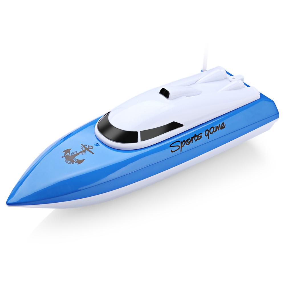 [해외]RC 보트 Kidome 충전 야외 라디오 원격 제어 4 채널 방수 미니 고속 보트 비행선 미끼 보트 CP802 선물/RC Boats Kidome Charging Outdoor Radio Remote Control 4 Channels Waterproof Mini