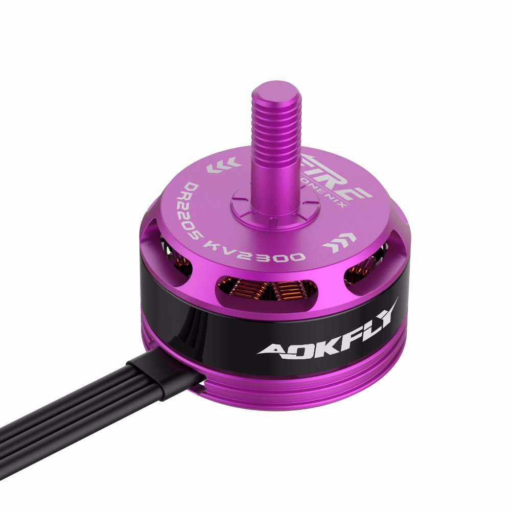 [해외]DR2205 Brushless 모터 2300KV / 2500KV 빨간색 / 보라색 FPV 무인 항공기에 대 한 Multirotor RC 모델 완구/DR2205 Brushless motor 2300KV/2500KV Red/Purple for FPV Drone Qu