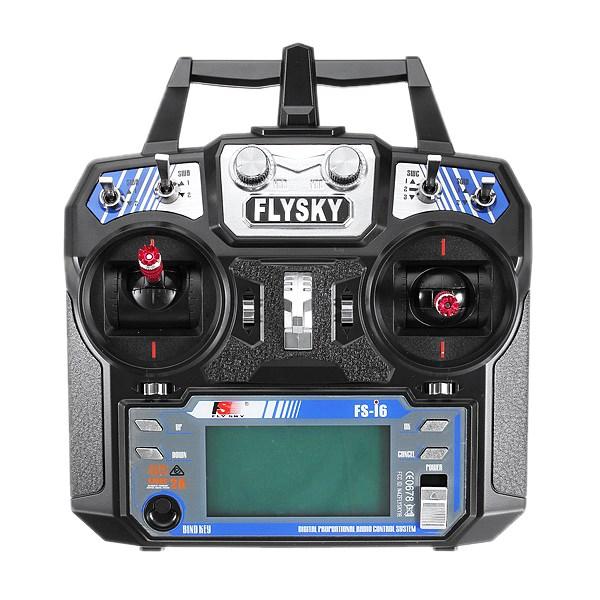 [해외]FlySky i6 FS-i6 수신기가없는 2.4G 6CH AFHDS RC 송신기/FlySky i6 FS-i6 2.4G 6CH AFHDS RC Transmitter Without Receiver