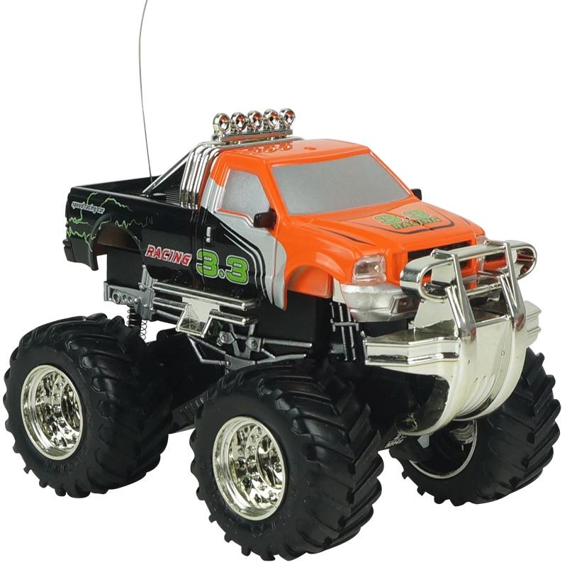 [해외]?1:43 4CH 무선 제어 충전식 오프로드 RC 차량 모델 완구/ 1:43 4CH Radio Control Rechargeable Off-Road RC Car Vehicle Model Toys