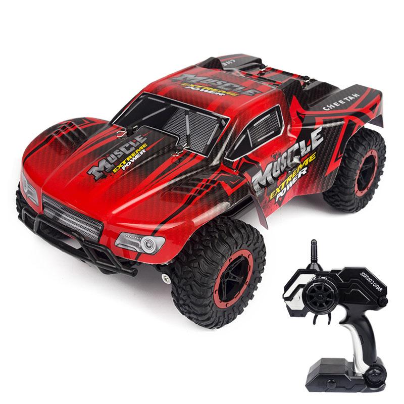 [해외]1:16 RC 슈퍼 크로스 컨트리 차량 자동차 2.4G 2WD 라디오 RC 자동차 버기 고속 SUV Bigfoot 드리프트 원격 제어 장난감 자동차/1:16 RC Super Cross-Country Climbing Vehicle Car 2.4G 2WD Radio