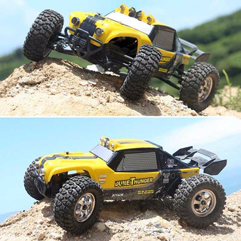 [해외]HBX 12891 1/12 4WD 2.4 G 방수 유압 댐퍼 RC 사막 버기 TruckLED 라이트/HBX 12891 1/12 4WD 2.4G Waterproof Hydraulic Damper RC Desert Buggy TruckLED Light