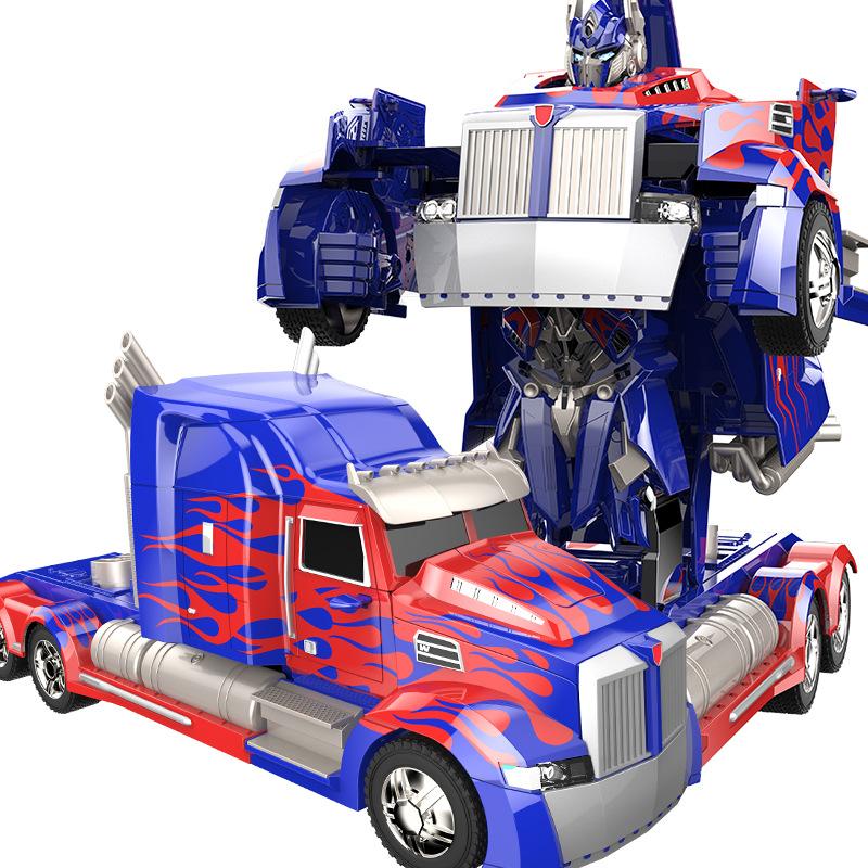 [해외]RC 자동차 변환 로봇 자동차 모델 크리스마스 선물 액션 그림 장난감 Robocar 보이 장난감 Juguetes 클래식 장난감/RC car Transformation Robots Car model Xmas gift action figure toys Robocar