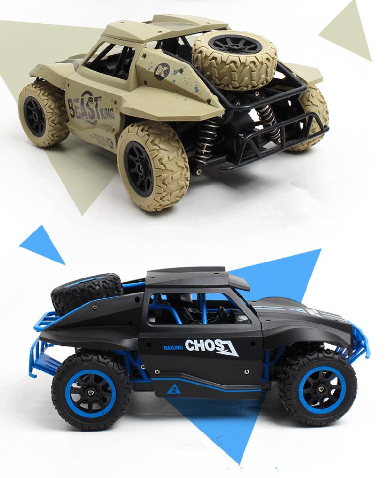 [해외]4WD 2.4GH Rc 자동차 짧은 코스 트럭 스타일 1/18 스케일 고속 rc 레이싱 카 장난감 원격 제어 자동차 장난감 키즈 최고의 선물 장난감 놀이/4WD 2.4GH Rc car Short Course Truck style 1/18 Scale high sp