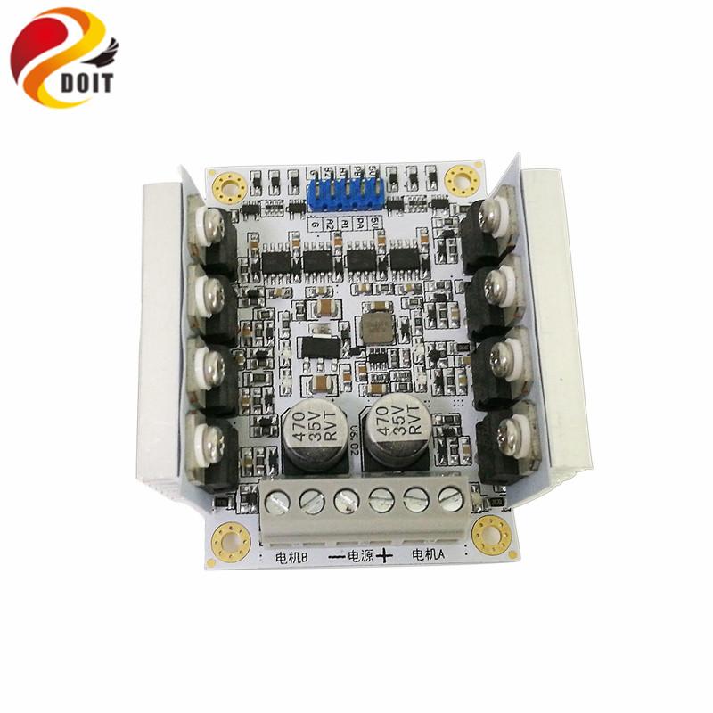[해외]도로 2 도로 & amp; Arduino 용 4 도로 모터 드라이브 실드 보드/DOIT 2 Road & 4 Road Motor Drive Shield Board for Arduino