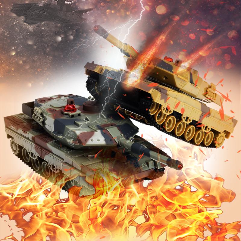 [해외]기중 RC 탱크 G- 센서 제어 밀리터리 적외선 탱크 원격 제어 전투 탱크 장난감 그린 위장 / 사막 위장/Panzer RC Tank  G-Sensor Control Military Infrared Tank Remote Control Battle Tank toy