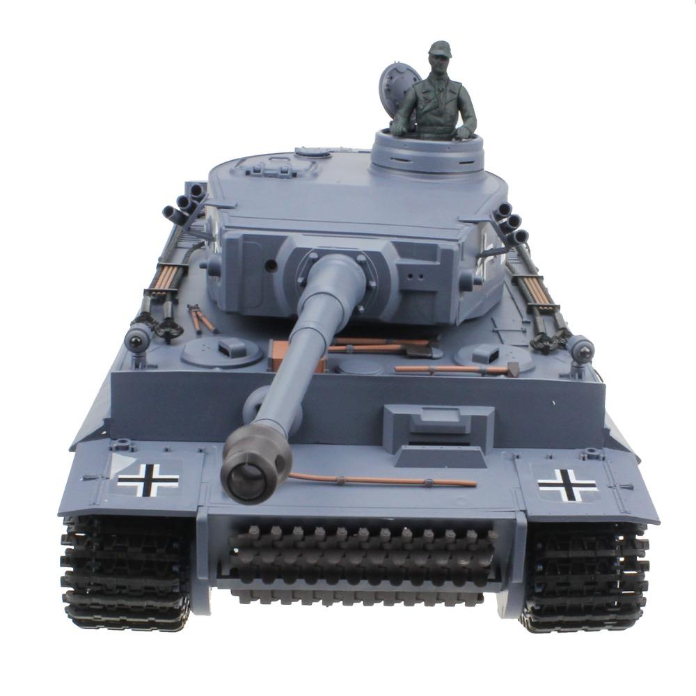 [해외]2.4G 1:16 원격 제어 독일 호랑이 탱크 세계 대전 RC 탱크 모형 장난감/2.4G 1:16 Remote Control Germany Tiger Tank World War II RC Tank Model Toy