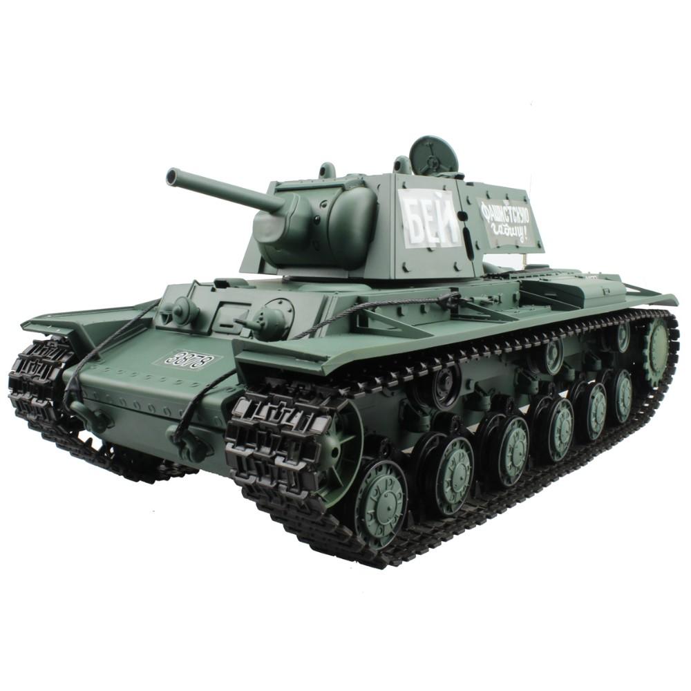 [해외]2.4G 1/16 러시아 KV-1 Ehkranami 주요 전투 탱크 제 2 차 세계 대전 육군 탱크 모형 선물 장난감/2.4G 1/16 Russian KV-1 Ehkranami Main Battle Tank World War II Army Tank Model G