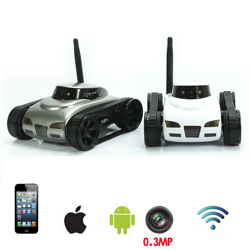 [해외]재미 있은 WiFi RC 탱크 차 toy0.3MP HD 카메라 실시간 전송 장난감 Moblie 전화 원격 제어 소년 아이 장난감 juguetes/Funny WiFi RC Tank Car toy0.3MP HD Camera Realtime transmission t