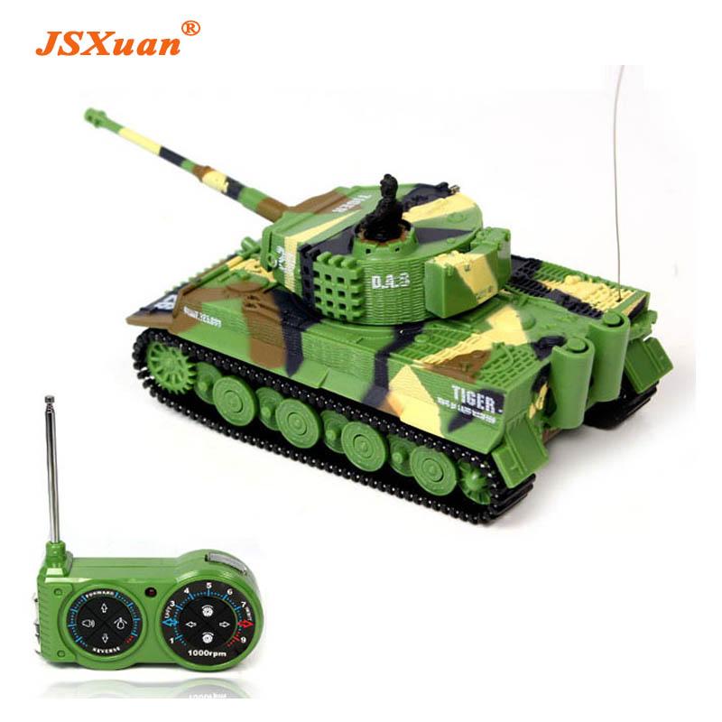 [해외]JSXuan 시뮬레이션 독일어 RC 타이거 탱크 14 CH 1:72 원격 제어 시뮬레이션 기갑 미니 RC 탱크 어린이 장난감 어린이 선물/JSXuan Simulation German RC Tiger Tank 14 CH 1:72 Remote Control Simu