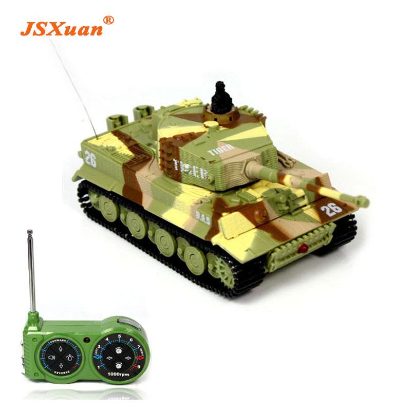 [해외]2016 새로운 승진 1:72 고전적인 R / C 라디오 원격 제어 호랑이 RC 탱크 모형 아이들을 % s 상자 팩없이 선물/2016 New Promotion 1:72 Classic R/C Radio Remote Control Tiger RC Tank Model