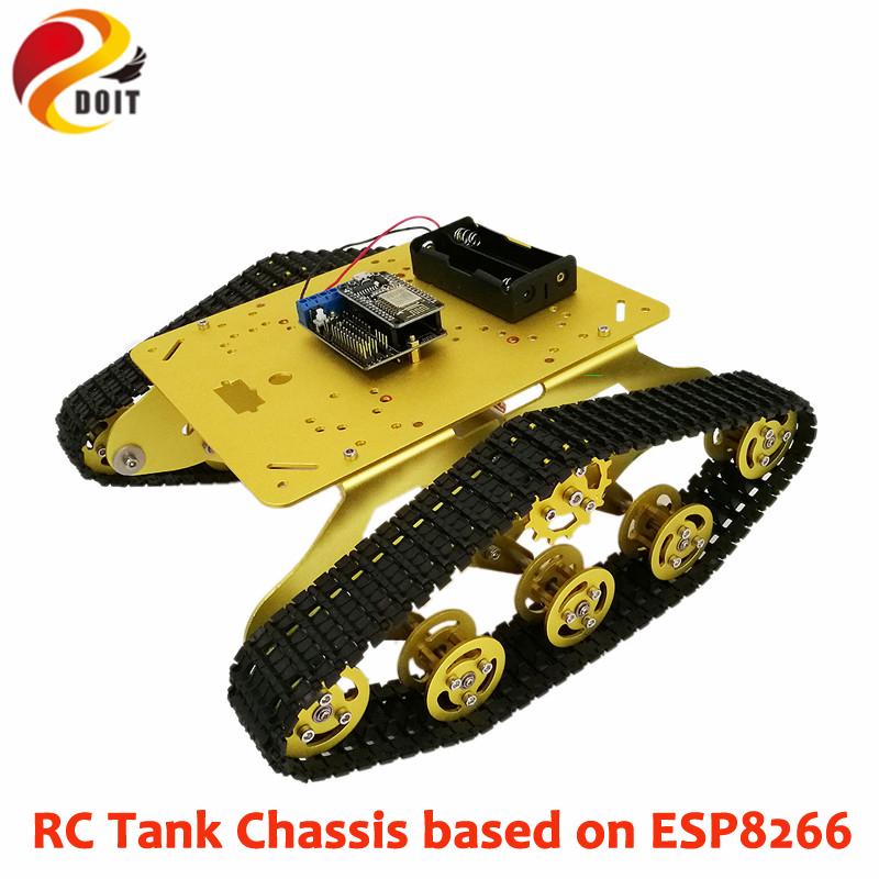 [해외]DOIT 원격 제어 로봇 TS300 충격 흡수 장치 모델 + 노 데무 개발 보드 + 모터 드라이브 실드 보드 (졸업 용)/DOIT Remote Control Robot TS300 Shock Absorber Tank Model+ Nodemcu Development