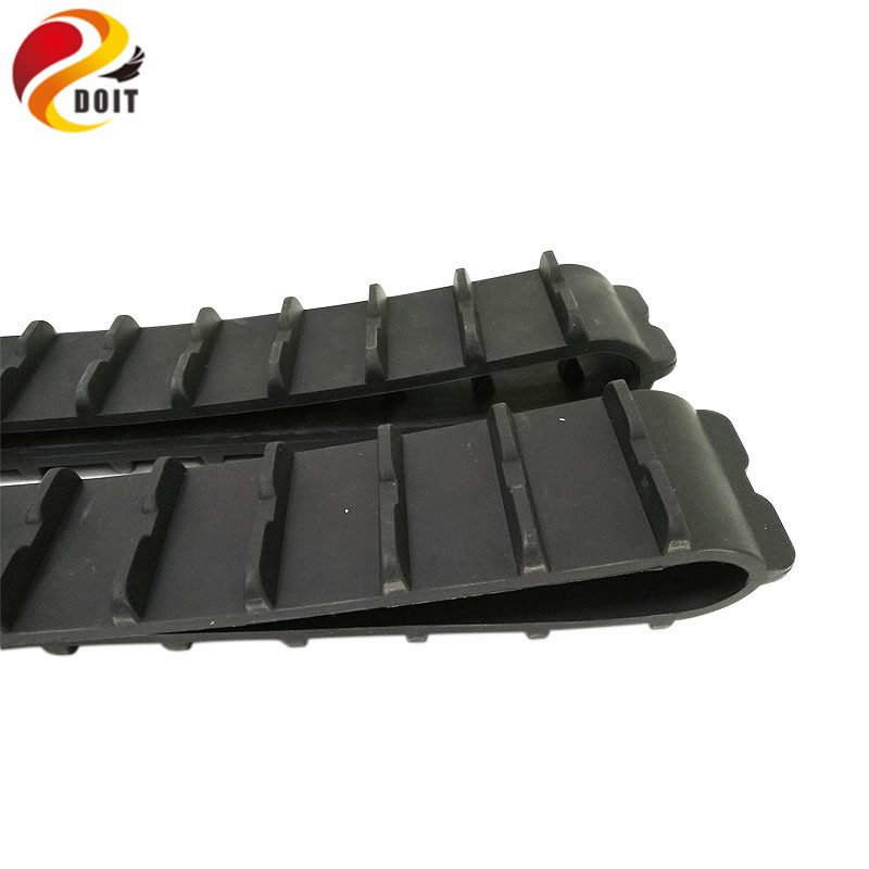 [해외]장난감 Model970mm 길이 51mm 너비 DIY RC 장난감 부품에 대 한 2pcs 고무 트랙/DOIT 2pcs Rubber Tracks for Tank Model970mm Length 51mm Width DIY RC Toy Parts