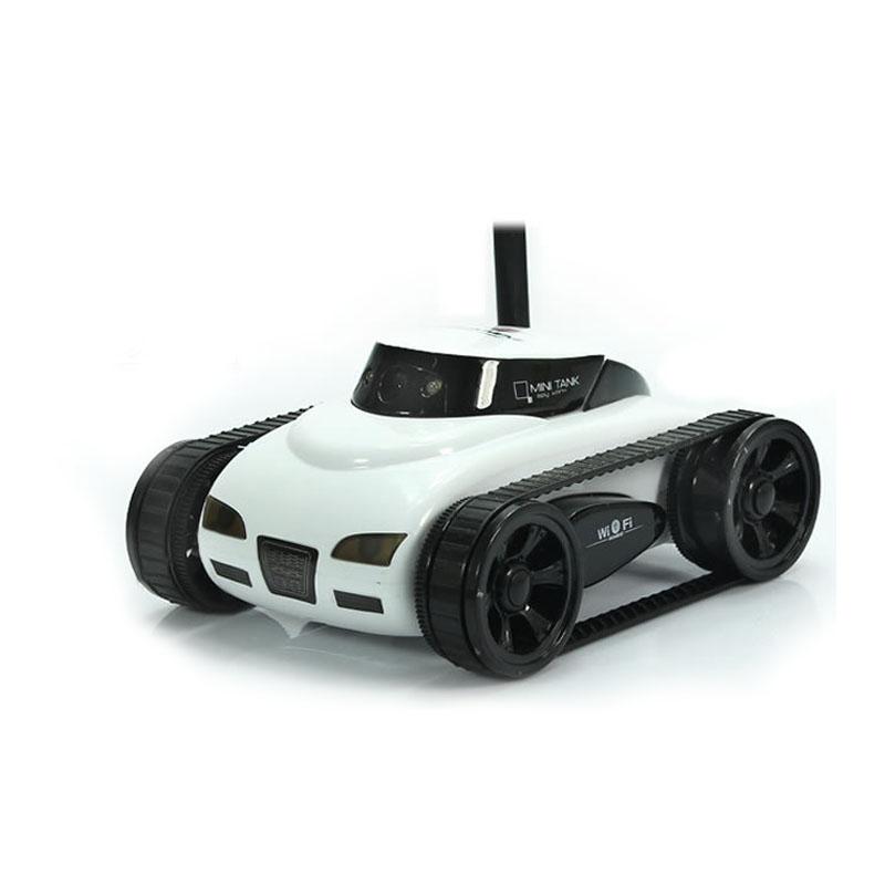[해외]?전화 와이파이 애플 리케이션 제어 벽 - 전자 탱크 RobotCamera 비디오 원격 제어 로봇 270 FL에 대한 RC 탱크 완구/ RC Tank Toys For Phone Wifi App Controlled WALL-E Tank RobotCamera Vid