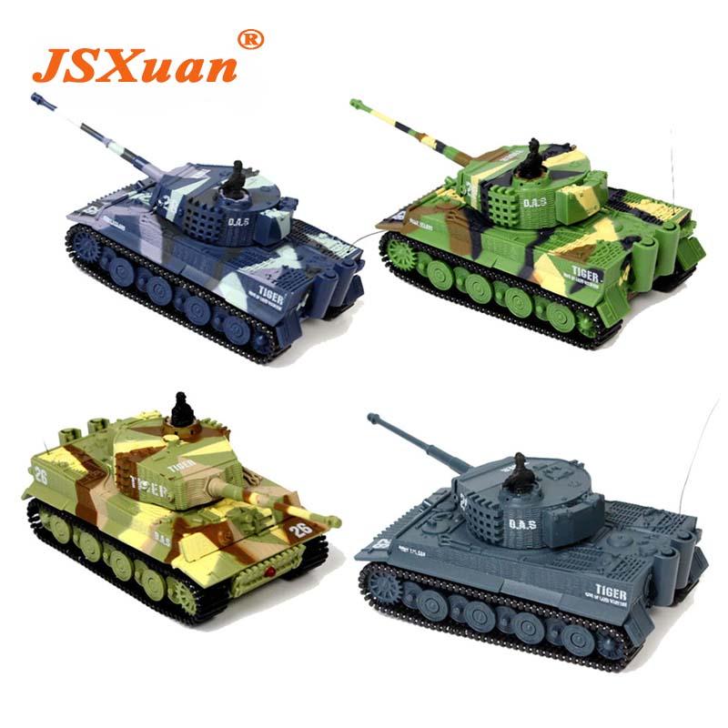[해외]JSXuan 브랜드의 새로운 타이거 RC 배틀 탱크 14CH 1:72 스케일 원격 제어 시뮬레이션 기갑 미니 탱크 어린이 장난감 선물/JSXuan brand new TIGER RC Battle Tank 14CH 1:72 Scale Remote Control Si