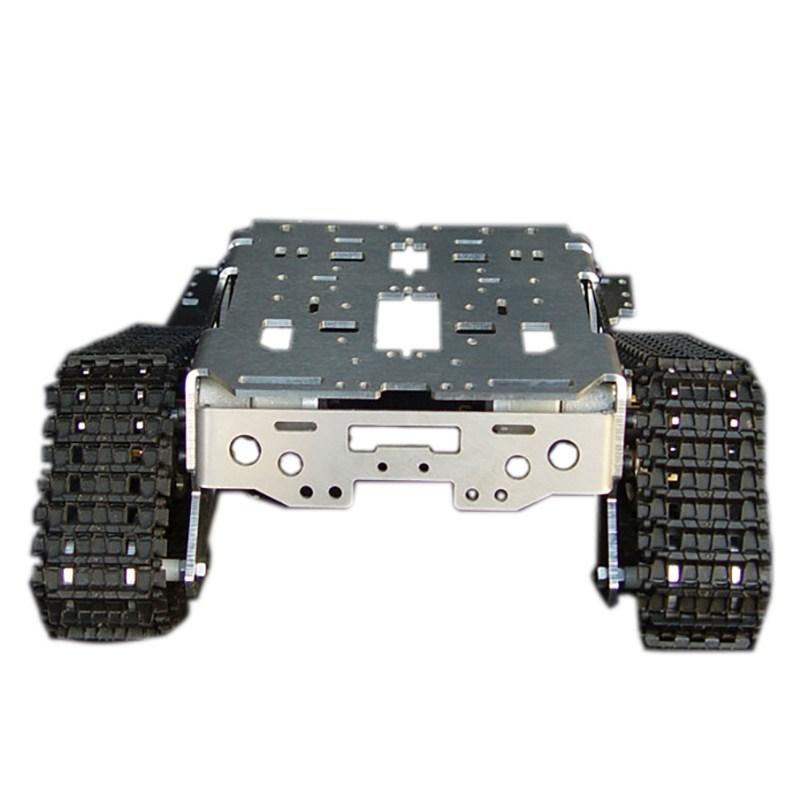 [해외]금속 알루미늄 합금 스마트 로봇 탱크 섀시 키트 RC 추적 된 자동차 지능형 RC 완구 아이들을좋은 모델/Metal Aluminum Alloy Smart Robot Tank Chassis Kits RC Tracked Car  Intelligent RC Toys