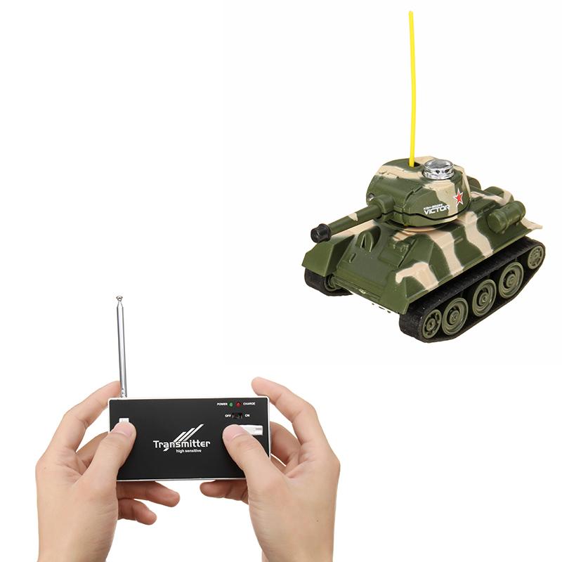 [해외]어린이를미니 라디오 RC 육군 전투 적외선 TankLight 모델 원격 제어 완구/Mini Radio RC Army Battle Infrared TankLight Model Remote Control Toys For Kids