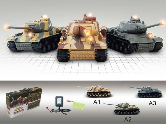 [해외]2pcs / set 8chinfrared 전투 tanksound 및 라이트 미니 rc 탱크 r / c 장난감 탱크 HQ529 P2/2pcs/set 8chinfrared battle tanksound and light mini rc tank r/c toys tan