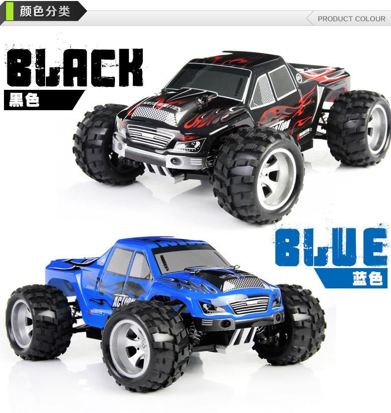 [해외]베스트 셀러 50KM / H Wltoys A979 2.4G 4CH 4WD 원격 제어 RC 자동차 고속 스턴트 레이싱 카 슈퍼 파워 오프로드 차량/Best Seller  50KM/H Wltoys A979 2.4G 4CH 4WD Remote Control RC Ca