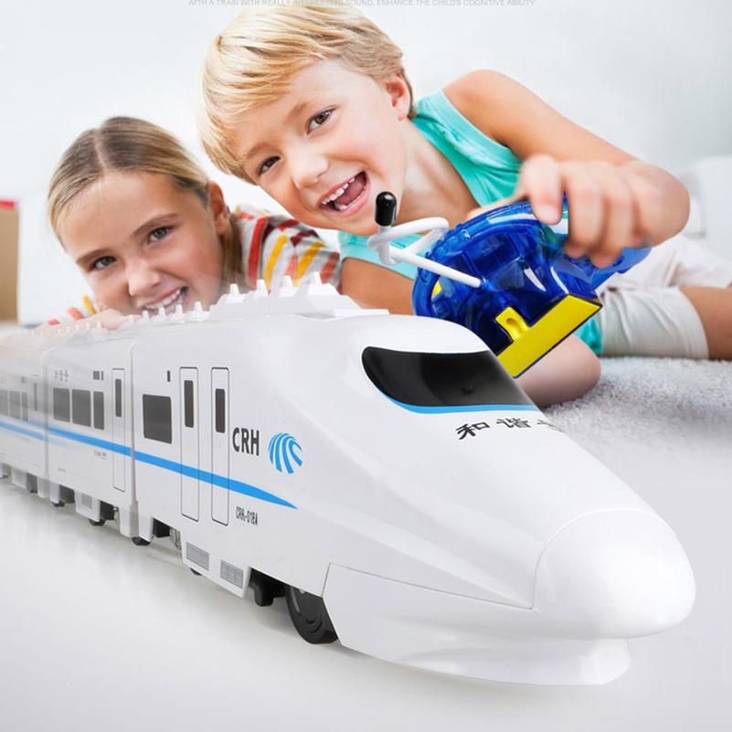 [해외]1 세트 82cm CRH RC 기차 완구 전기 원격 제어 기차  철도 고속 기차 모델 RC 완구 어린이 선물 용품/1 Set 82cm CRH RC Train Toys Electric Remote Control Train China Railway High-spee