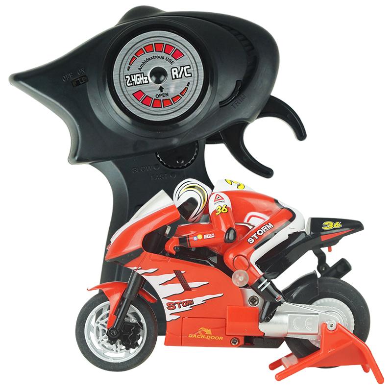 [해외]완구 만들기 8012 RC 오토바이 4 채널 원격 제어 오토바이 2 바퀴 RC 오토바이 오토바이 RTR에 간다/Create Toys 8012 RC Motorcycles 4 Channel Remote Control Motorcycle Goes on 2 Wheels