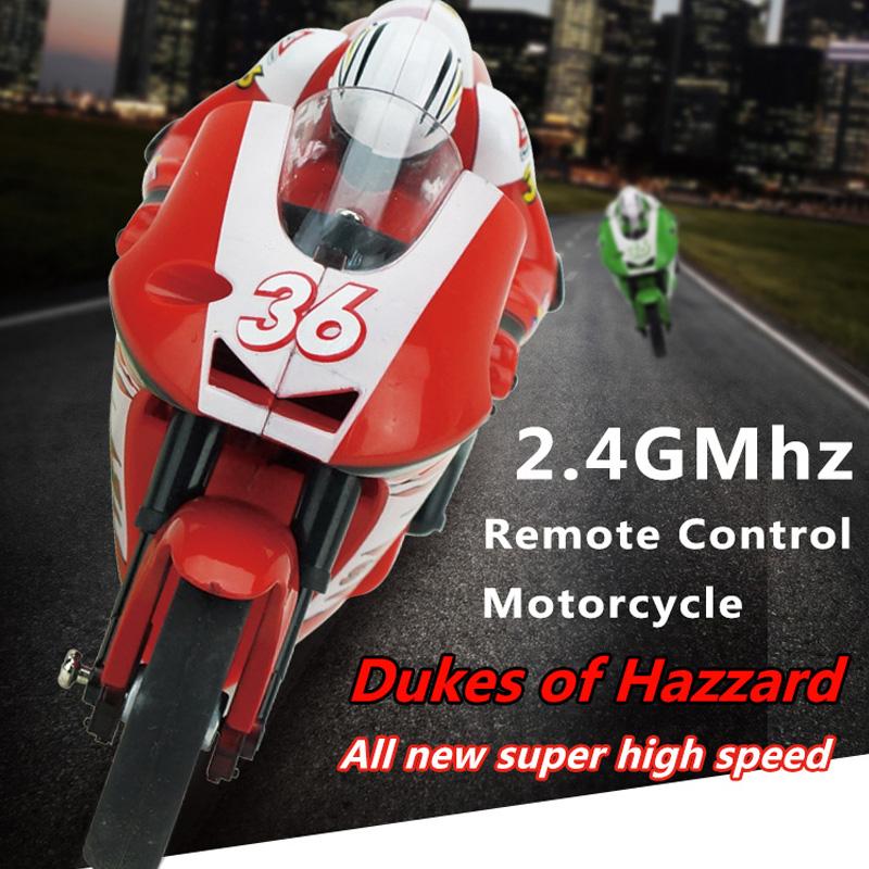 [해외]참신 미니 RC 오토바이 8012 전기 고속 원격 제어 자동차 3.7V 2.4 G RC 점프 원격 제어 오토바이/Novelty Mini RC Motorcycle 8012 Electric High Speed Remote Control Cars 3.7V 2.4G R