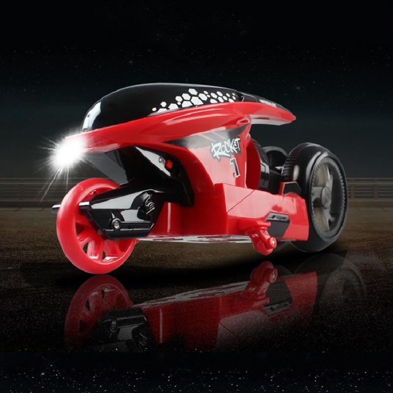 [해외]3Color 2.4GHZ RC 오토바이 ToysLight 원격 제어 RC 오토바이 어린이를슈퍼 멋진 장난감 스턴트 자동차 선물/3color 2.4GHZ RC Motorcycle ToysLight Remote Controlledi RC Motorcycle Supe