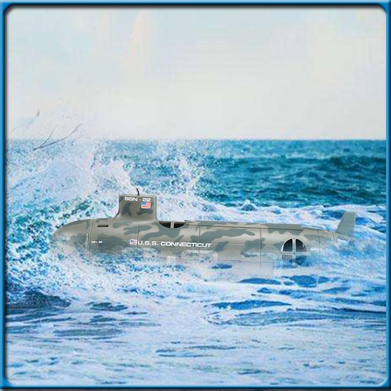 [해외]뜨거운 품질 미국 Seawolf RC 잠수함 모형 핵 잠수함 RC 원격 제어 보트 아이들 & s 장난감을 위탁하십시오/Hot Quality US Seawolf RC Submarine Model Nuclear-Powered Submarine RC Remot