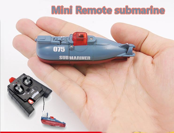 [해외]RC 잠수함 6 채널 고속 라디오 원격 제어 전기 미니 라디오 제어 잠수함 어린이 장난감 소년 모델 완구 선물/RC Submarine 6 Channels High Speed Radio Remote Control Electric Mini Radio Control
