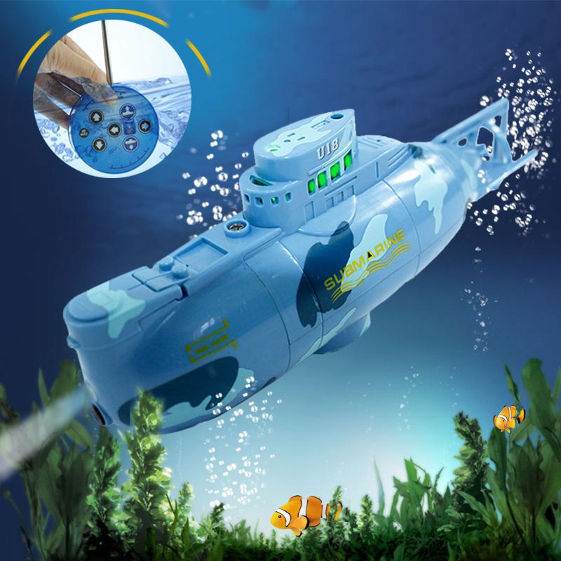 [해외]참신 고속 라디오 RC 잠수함 모델 3311 전기 미니 원격 제어 폭발 병 잠수함 장난감/Novelty High Speed Radio RC Submarine Model 3311 Electric Mini Remote Control Explosion Bottle S