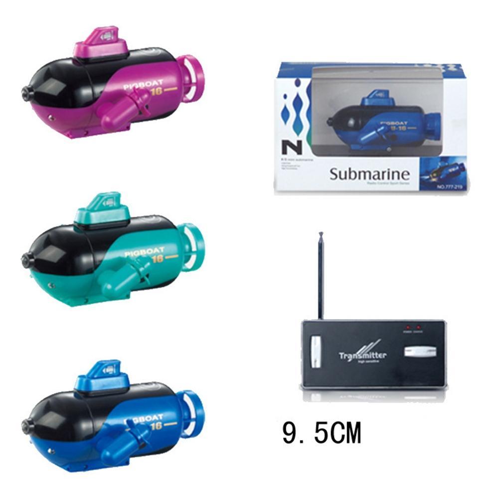 [해외]LeadingStar 777-219 4CH 미니 RC 잠수함 라디오 전기 원격 조종선 배 ToysLight 어린이 Kid Fun kawaii 선물/LeadingStar 777-219 4CH Mini RC Submarine Radio Electric Remote