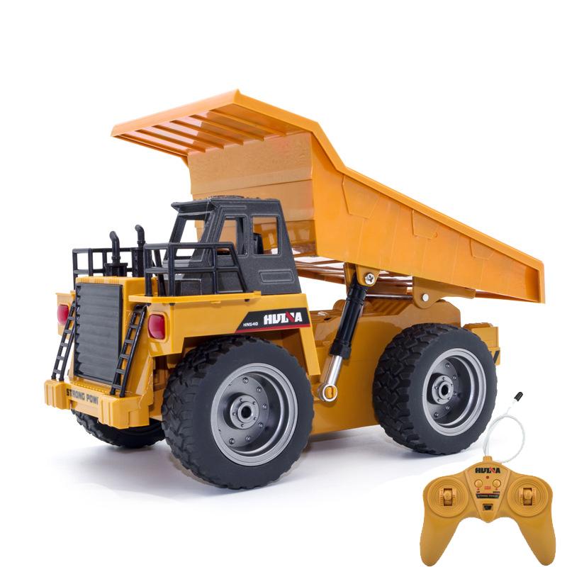 [해외]RC 합금 엔지니어링 트럭 슈퍼 파워 RC 자동차 모델 덤프 트럭 비치 장난감 어린이  소년 장난감 생일 크리스마스 선물/RC Alloy engineering truck Super power RC car model Dump trucks Beach toys Chi