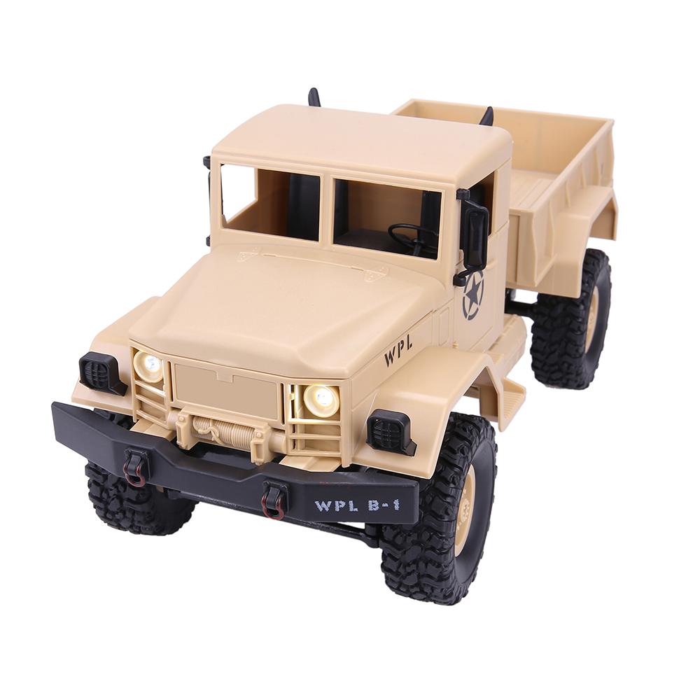 [해외]WPLB-14 25km / h 2.4Ghz 4 채널 1:16 4WD 전체 기능 원격 제어 미국 밀리터리 트럭 RC 자동차 충격 흡수/WPLB-14 25km/h 2.4Ghz 4-CH 1:16 4WD Full Function Remote Control USA Mil