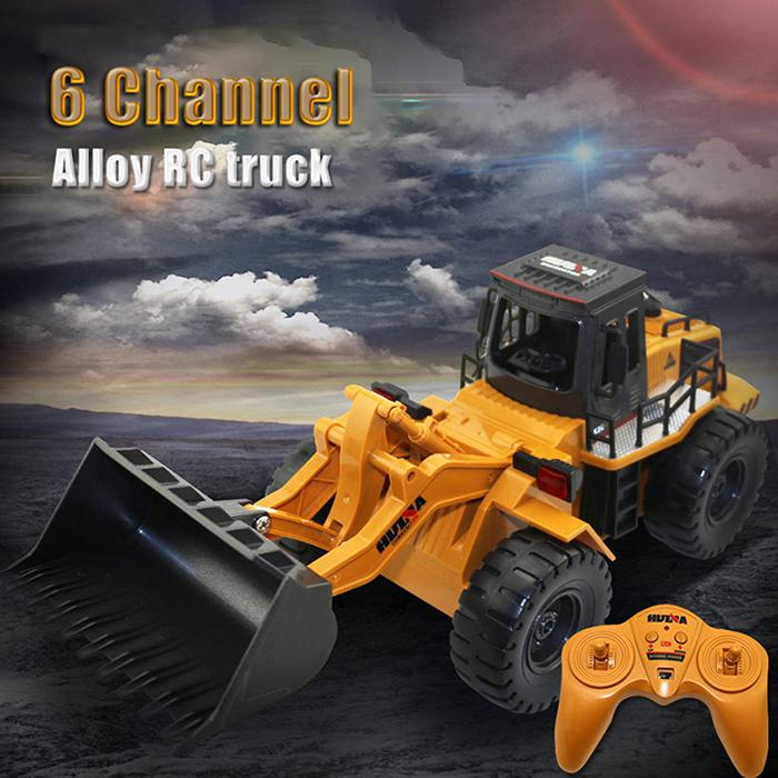 [해외]새로운 RC 트럭 1:18 2.4GHz 6CH RC 합금 트럭 건설 차량 장난감 RC 불도저 엔지니어링 자동차 RC 완구 선물 용품/New RC Trucks 1:18 2.4GHz 6CH RC Alloy Truck Construction Vehicle Toy RC