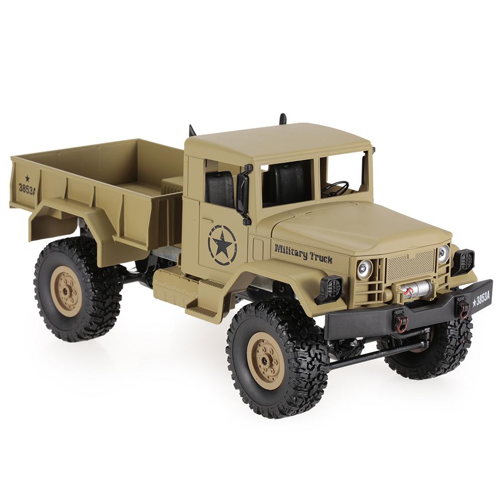 [해외]HENG LONG 3853A 1/16 2.4G 4WD 오프로드 RC 군용 트럭 락 크롤러 군용 차량/HENG LONG 3853A 1/16 2.4G 4WD Off-Road RC Military Truck Rock Crawler Army Car