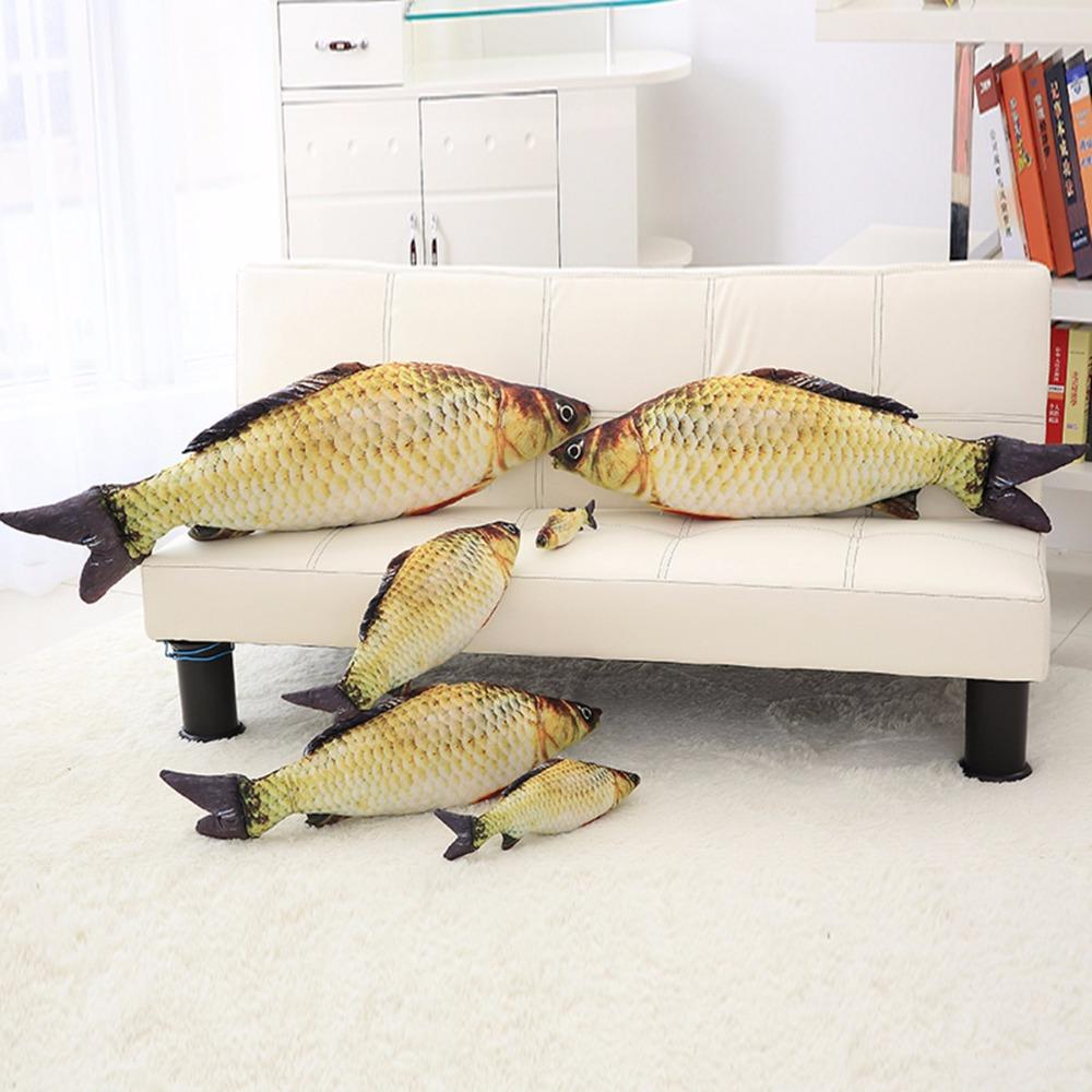 [해외]봉제 인형 시뮬레이션 만화 물고기 인형 Crucian carp 인형 만화 만화 인형 * Golden fish gift for kids * 40cm/plush toys Simulation fish soft Crucian carp stuffed animals dol
